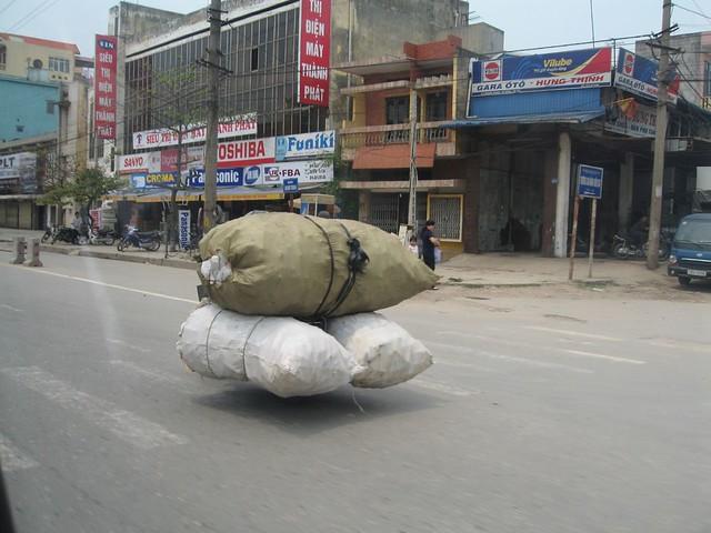 Bagpacker in Vietam