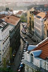 Praha (Ma Rui) Tags: street old deleteme5 deleteme8 deleteme deleteme3 deleteme4 deleteme6 deleteme9 deleteme7 car evening saveme czech prague saveme2 deleteme10 praha parked curved narrow superiaxtra deleteme1 100vezata vyton