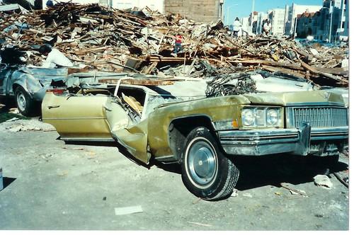 Loma Preita earthquake San Francisco 1989. Photo: km6xo, flickr