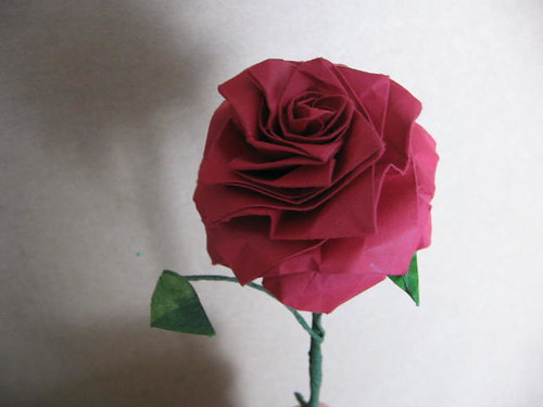 Origami Flower Rose Image Collections Handicraft Ideas Home Decorating