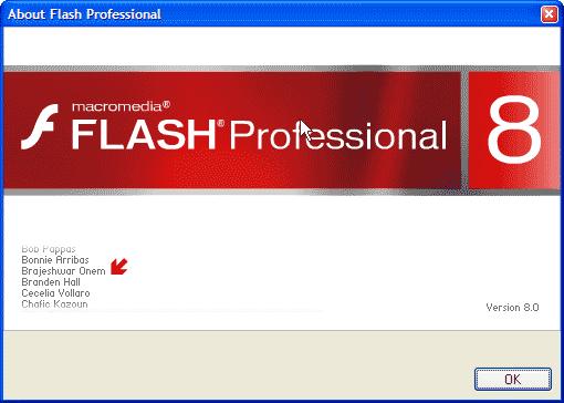 Brajeshwar on Flash 8 Credit Roll