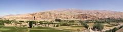 Bamyan (MastaBaba) Tags: panorama afghanistan buddha buddhas bamyan 20050806 bf:blogitem=2151 bf:blogitem=2780