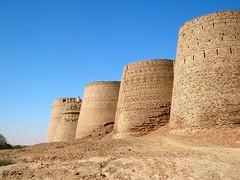 Derawar Fort (cholistan desert) (Yousaf FAYYAZ) Tags: pakistan desert fort punjab cholistan bahawalpur derawar
