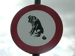No Dog Shit... (Pat Rioux) Tags: dog holland netherlands windmill sign funny poop shit kinderdijk
