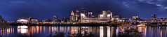 Cincinnati Night Panorama (ChrisIrmo) Tags: panorama skyline night cincinnati hdr 3xp hdrpano