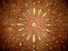 Ceiling Detail, Alhambra (Velvet Selkie) Tags: wood design spain ceiling alhambra granada marquetry inlay