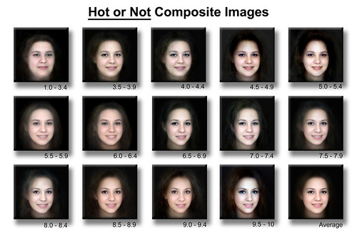 Attractive Face Scale by manitou2121
