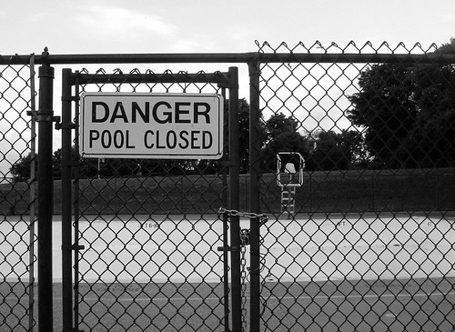 Danger! Pool Closed