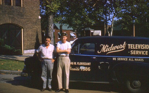 Midwest Television Service Truck - 1958