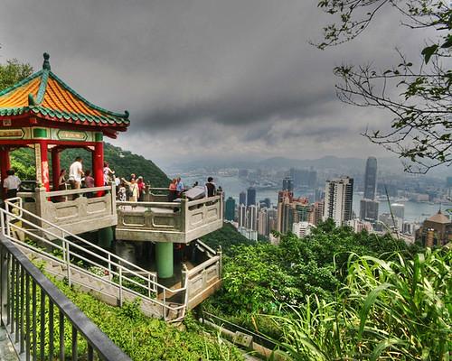 Vista de la ciudad desde el Pico Victoria