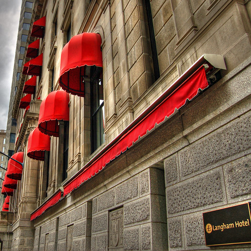 Awnings of Red