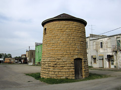 Old Jail - Wilson, Kansas (jschumacher) Tags: jail limestone kansas wilson wilsonkansas