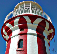 Hornby Lighthouse (yewenyi) Tags: park blue red lighthouse white tower digital geotagged faro nationalpark sydney australia nsw newsouthwales farol aus phare vuurtoren leuchtturm pc2030 oceania  southhead   auspctagged   sydneyharbournationalpark pctagged hornbylighthouse  geo:lat=33833497 geo:lon=151280934