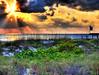 HDR - Beach DV (worldwidewandering) Tags: ocean 2002 sunset usa beach gulfofmexico america d50 florida united experiment states hdr passagrille stpetersburgbeach photomatix worldwidewandering