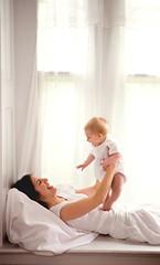 the window seat (-Angela) Tags: family baby topf25 topf50 play mother son 50100fav momma windowseat newstudio