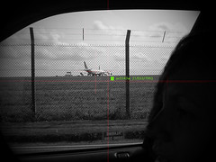 espionage on a local scale (just another bloke) Tags: car plane drive spain snap intelligence observe spy pies planes spies plains plans pains