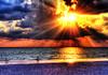 HDR - Beach DV 2 (re-done) (worldwidewandering) Tags: ocean 2002 sunset usa beach gulfofmexico d50 florida experiment nikond50 hdr stpetersburgbeach photomatix commentsbest worldwidewandering