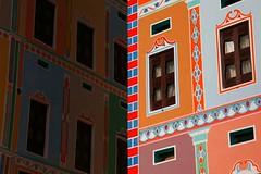Colourful facades of Buqshan hotel in Khaila - Yemen (Eric Lafforgue) Tags: republic arabic arabia yemen arabian ramadan yemeni yaman arabie yemenia jemen lafforgue arabiafelix  arabieheureuse  arabianpeninsula ericlafforgue iemen lafforguemaccom mytripsmypics imen imen yemni    jemenas    wwwericlafforguecom  alyaman ericlafforguecomericlafforgue contactlafforguemaccom yemenpicture yemenpictures