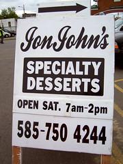 JonJohn's Desserts (ljc@flickr) Tags: desserts rochester publicmarket jonjohns