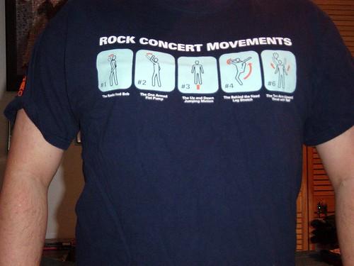 Rock Concert Movements