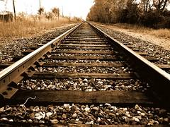 Right On Track (suesue2) Tags: railroad train traintracks piratetreasure lovephotography piratetreasure2 piratetreasure3