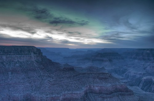Sunset on Grand Canyon