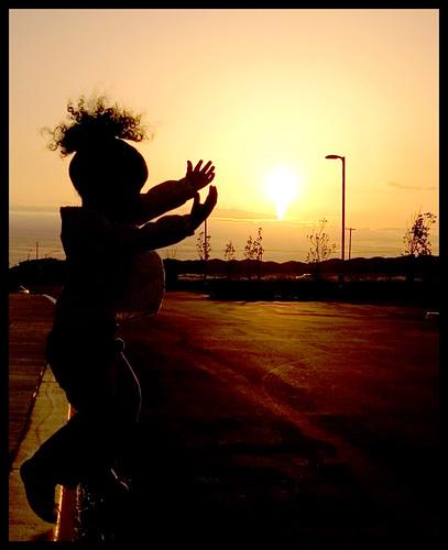 I Wanna Jump at the Sun! by diyosa