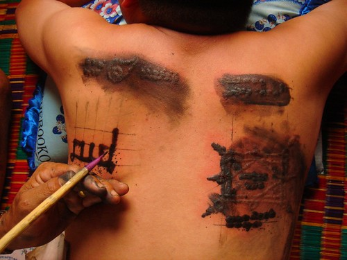 traditional tattoos. 14. khmer traditional tattoo