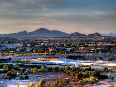 The Valley of the Sun (Videoal) Tags: arizona phoenix az i10 hdr camelbackmountain mcdowellmountain tempe tempeaz loop202 valleyofthesun papagomountain phoenixmetro