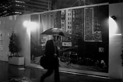 Rainy Day (ajpscs) Tags: street people bw wet rain japan umbrella japanese tokyo nikon wind streetphotography d100 blackwhtie monokuro ajpscs may212006 norulesnolimitationsnoboundariesitslikeanart