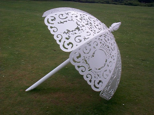 Metal umbrella by paulmorriss.