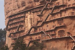 The Big Buddhas at Maijishan (mke1963) Tags: china silkroad gansu maijishan