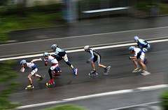 Woosh! (cszar) Tags: 15fav topv111 germany bayern deutschland bavaria nikon d70 marathon 2006 nikkor panning regensburg inliner topvaa 75300mmf4556af botopv0507