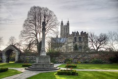 Memorial Garden - Canterbury Cathedral H by Keith Marshall, on Flickr
