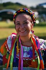 Nayamin at Guelagetza (Chris Schneider Photos) Tags: iloveyoursmile colourartaward colourartawards guelagetzafresno