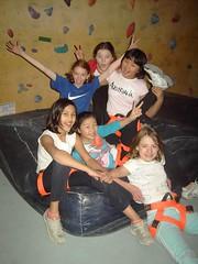 Party girls (TCL 1961) Tags: birthday school girls friends party marina sydney indoor climbing gym rockclimbing 11thbirthday