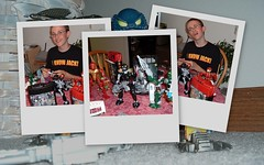 Cory's favorite toys - Bionicles