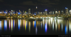 City from Glebe (Steve Grunberger) Tags: reflections sydney australia nsw glebe