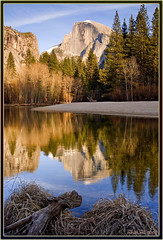 Half Dome on the Merced (Thi) Tags: river merced yosemite dome half halfdome yosemitevalley mercedriver yosemitewinter