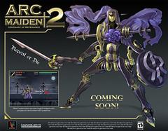 Arc Maiden (Nidaram) Tags: art robot character robots videogames fantasy pixel concept mecha mech conceptart nidaram