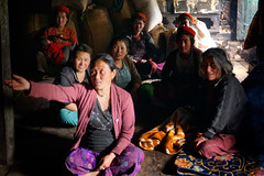 The Persuasive Women of Kharman (Farhiz) Tags: women village interior welcome tribe groupofpeople chang kharman handgesture arunachalpradesh monpa northeastindia hospitable zemithang