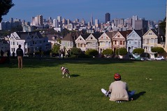 Alamo Square - painted ladies 7 (luco*) Tags: california ladies usa building buildings square san francisco downtown maisons painted united haight states lower alamo centreville californie tatsunis victoriennes flickraward flickraward5