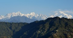 Mt Kanchenjunga and a range of love. (draskd) Tags: nikon explore range sikkim gangtok kanchenjunga mtpandim mtkanchenjunga mtnarsing mtjopuno explore190615 flickrkanchenjunga