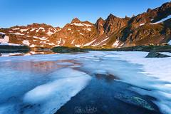 Lumire au Bersau (Matthieu Roubinet) Tags: lac reflets matin leverdesoleil ayous bersau parcnationalpyrnes