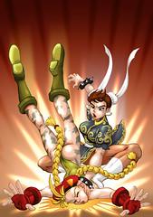 ChunLiCammySlam1 (poorminerlosercammy) Tags: comic princess cosplay wrestling manga otaku marvel submission cammy harleyquinn sailermoon streetfighter chunli capcom superwoman wondergirl nicelegs ryona laracrof cammyfan tsamus