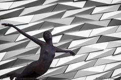 Titanic (dareangel_2000) Tags: sculpture stilllife art statue belfast maritime northernireland nautical titanic naval tallships coantrim titanicquarter titanicmuseum titanica dariacasement titanicbuilding titanicasculpture belfast2015 tqeventsbelfast tqevents