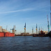 Hamburger Hafen Ladekräne