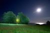 060 - Full Moon (Sven Gérard (lichtkunstfoto.de)) Tags: longexposure blue light sky moon lightpainting m1 orb lichtmalerei lightart langzeitbelichtung lapp lichtkunst sooc ledlenser lightartperformancephotography m7rx x21r2