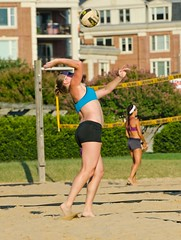 2015-08-03 BBV Women's Doubles (16) (cmfgu) Tags: girls net beach sports ball court md sand outdoor maryland baltimore womens volleyball athlete league innerharbor doubles womans twos bbv 2s rashfield