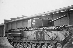 "German captured Churchill tank • <a style=""font-size:0.8em;"" href=""http://www.flickr.com/photos/81723459@N04/20002312768/"" target=""_blank"">View on Flickr</a>"